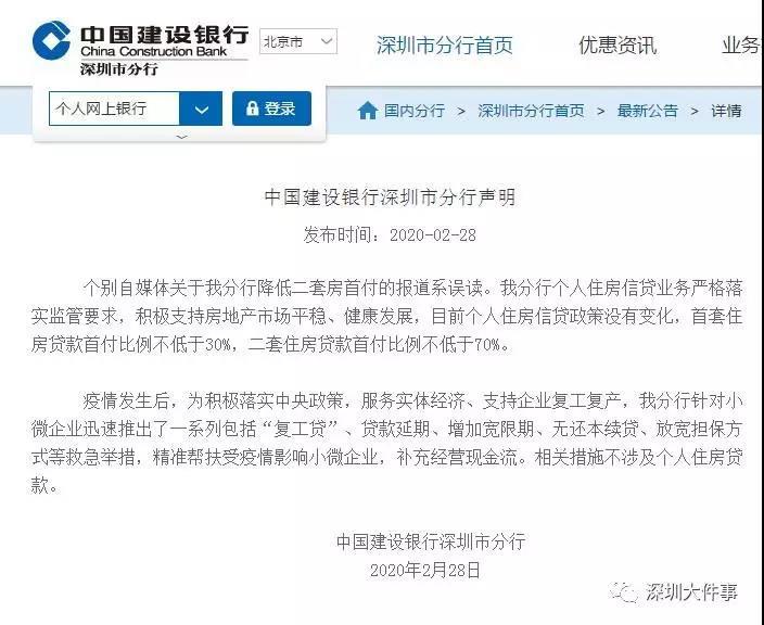 Statement of CCB