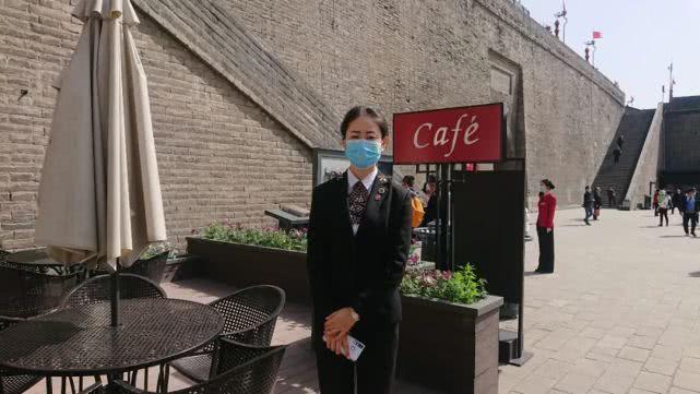 The spokesman, Xi'an City Wall