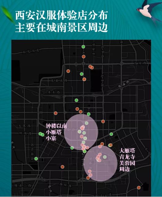 Xi'an, Hanfu, Experience, Distribution
