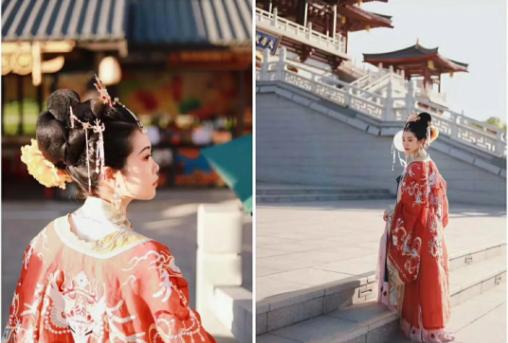 Xi'an, Hanfu, Experience, Girl