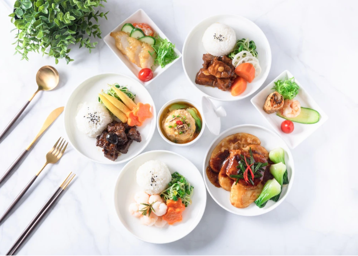 Eastern Airlines Business Class Special Dishes